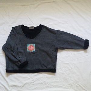 [vintage] Fresh Produce Cropped Sweatshirt